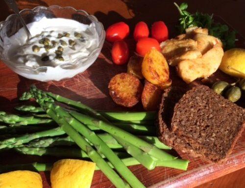 Torskefritter med kaperssauce – spansk tapas