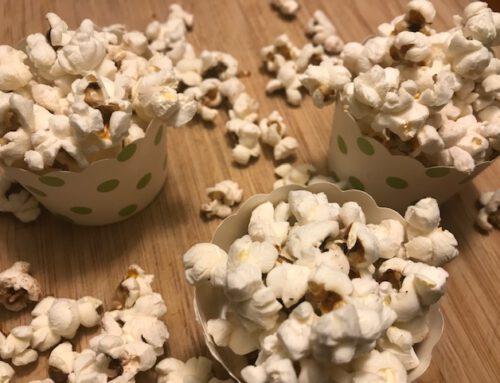 Popcorn i gryde
