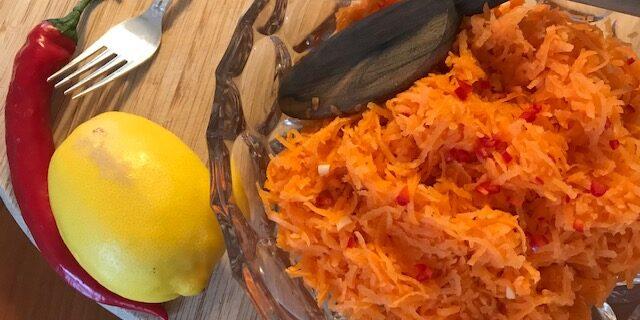 Marokkansk Gulerodssalat